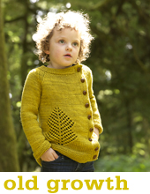 Old Growth Cardigan by Tin Can Knits