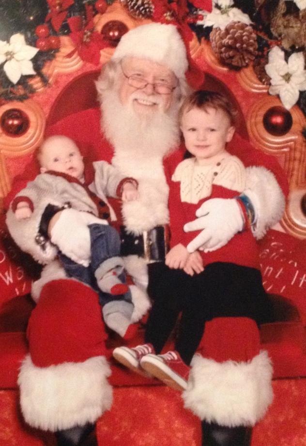Chillin' with Santa
