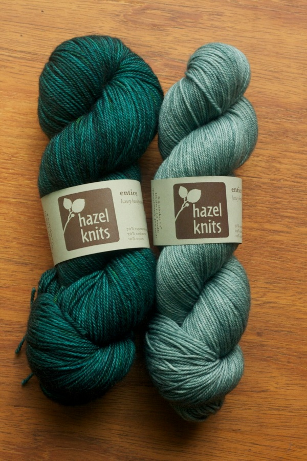 Loot for me from Hazel Yarns!