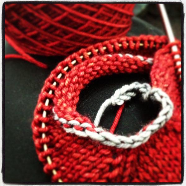 Plane Knitting!