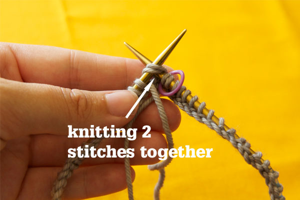Knitting Together Live Stitches : Casting On for Knitting in the Round (on Circulars) Tin Can Knits