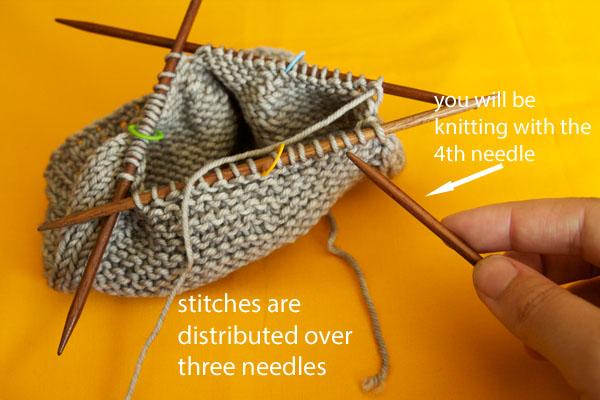Knitting A Hat In The Round With Double Pointed Needles : Čepičkománie pojďme uplést čepici návod let s knit a