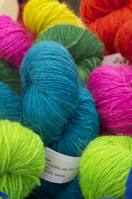 Yummy yarn shot!