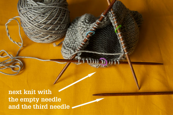 Knitting On The Round Double Pointed Needles : Knitting on double pointed needles tin can knits