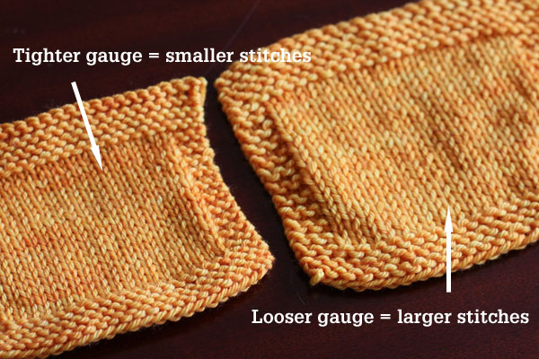 What Is Stocking Stitch In A Knitting Pattern : Gauge in Knitting Tin Can Knits