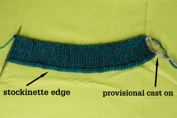 Knitting Pick Up Stitches On Cast On Edge : Let s Knit a Cardigan Tin Can Knits
