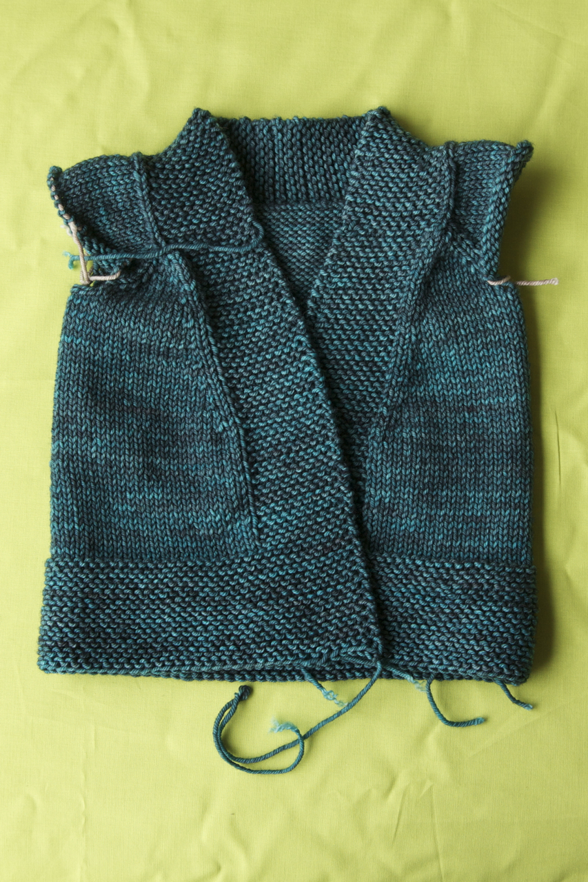 Knitting Picking Up Stitches Sleeves : Let s Knit a Cardigan Tin Can Knits
