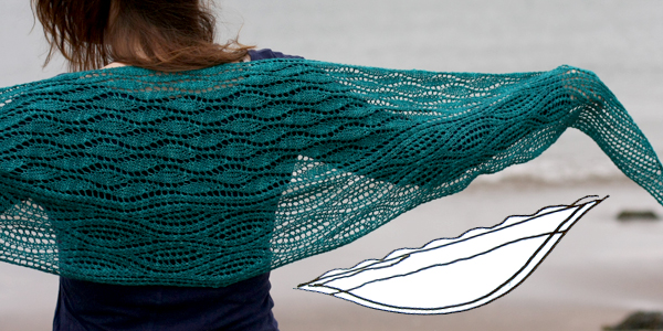 Estuary Shawl