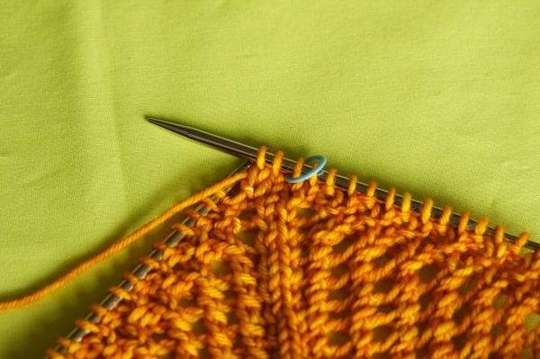 2 sts knit