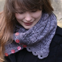 Gothic Lace Cowl by Tin Can Knits