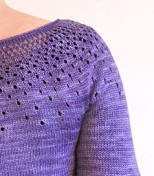 Raindrops Pullover by Tin Can Knits