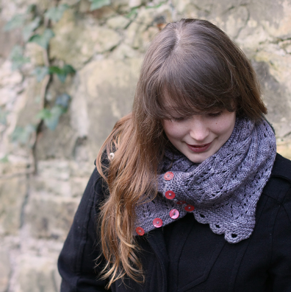 Gothic Lace Cowl or Scarf