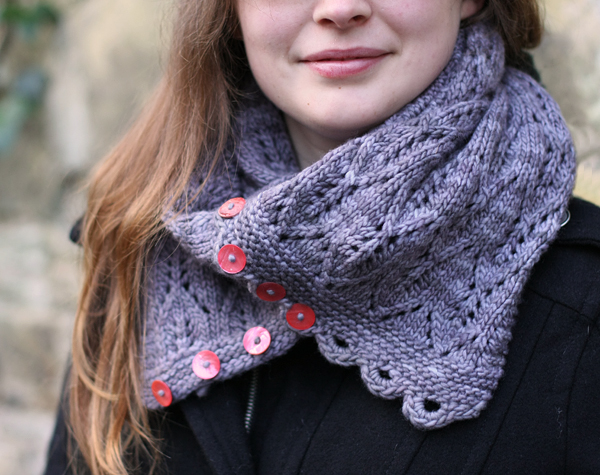 Gothic Lace Cowl By Tin Can Knits Tin Can Knits