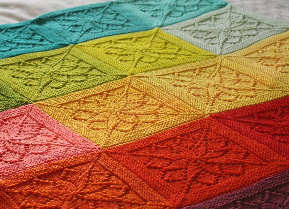 Vivid Blanket Kit 01 Tin Can Knits