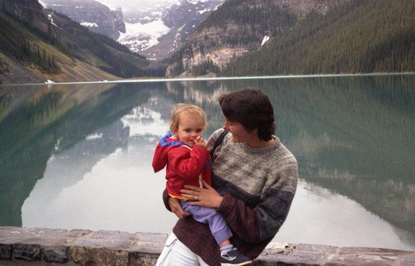 Lake Louise circa 1986