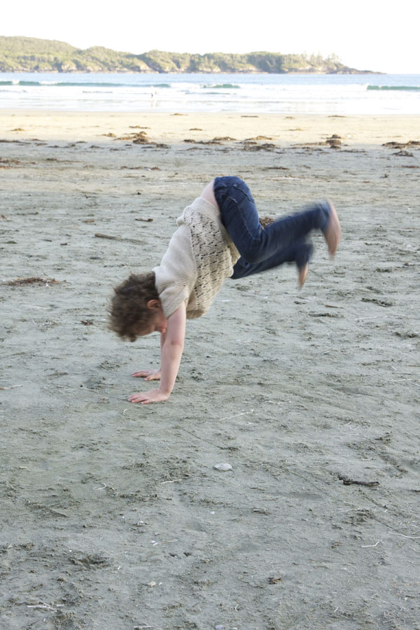 Sometimes kids just need to donkey kick their sillies out!