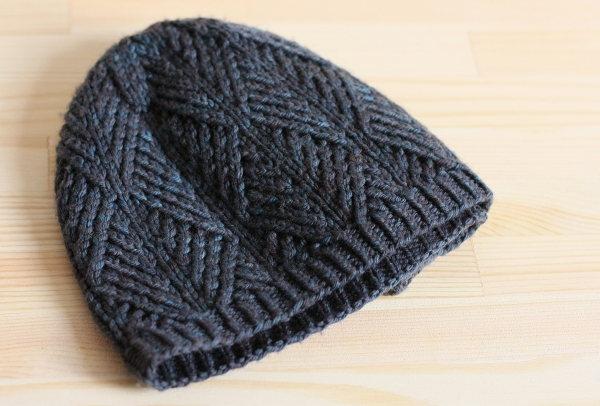 Knitting Pattern Hat Dk : Sitka Spruce Hat   DK weight pattern hack Tin Can Knits