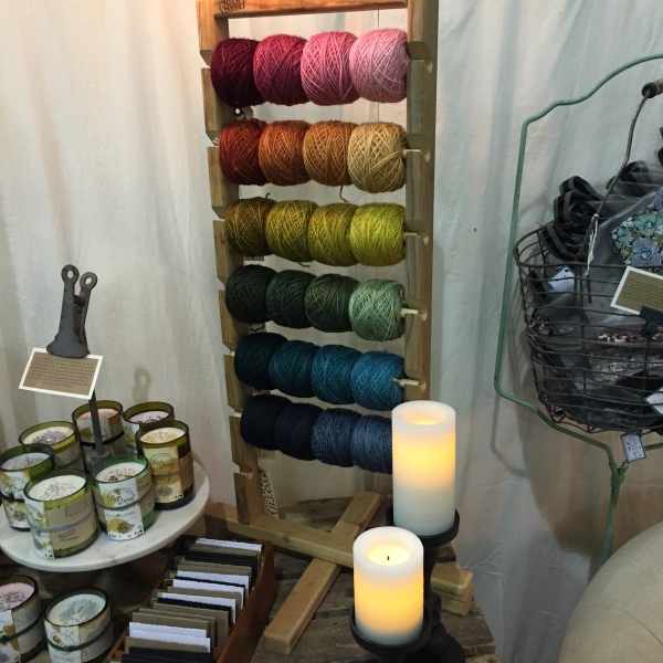 YOTH Gradients on display at Knit Fit Seattle