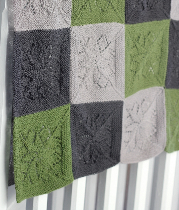 The Vivid Blanket is beautiful in subtle shades of Titus