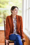 Little Wave Cardigan by Gudrun Johnstone