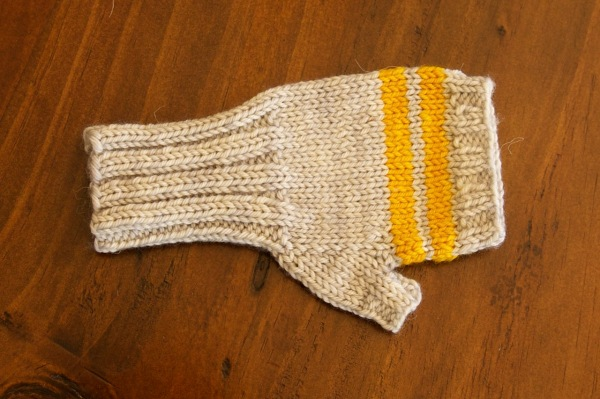 LOOOOONG cuffs for toddler mittens
