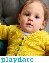 Playdate Cardigan by Tin Can Knits