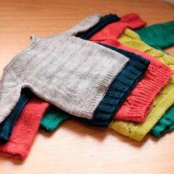 Baby Baby Sweaters by Tin Can Knits
