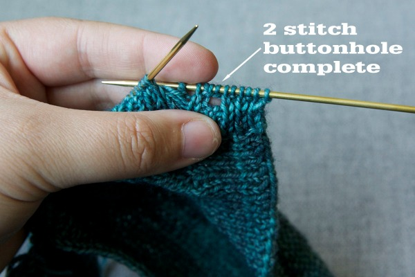 Buttonhole complete!