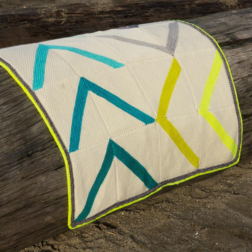 Fly Away blanket pattern