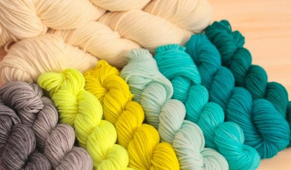 Rainbow Heirloom Fly Away Blanket Kit