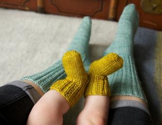Little Squirrel Socks