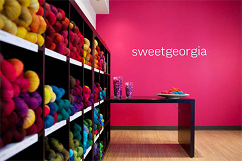 SweetGeorgia Yarns Studio