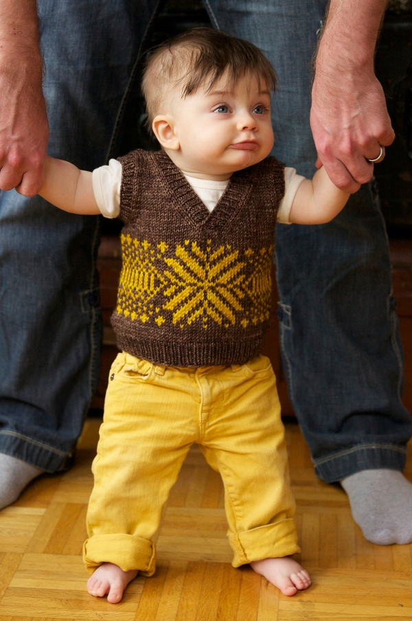 Peanut Vest by Tin Can Knits