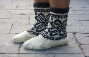 Mukluks from Pacific Knits