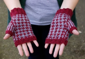 University Mitts from Pacific Knits