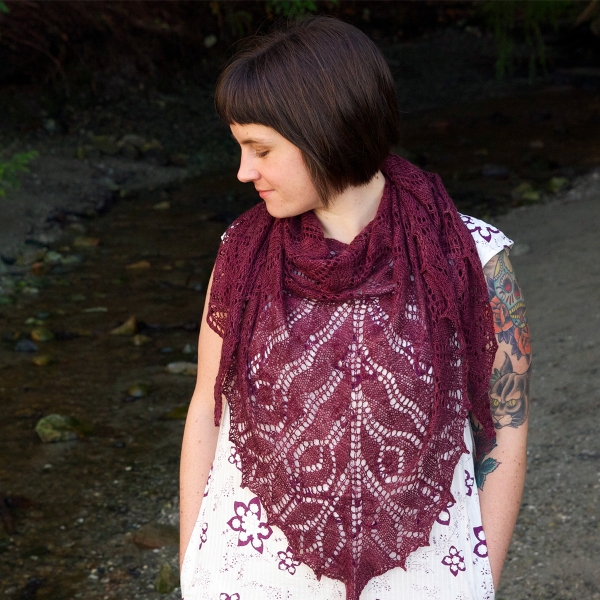 Tulip Shawl by Tin Can Knits