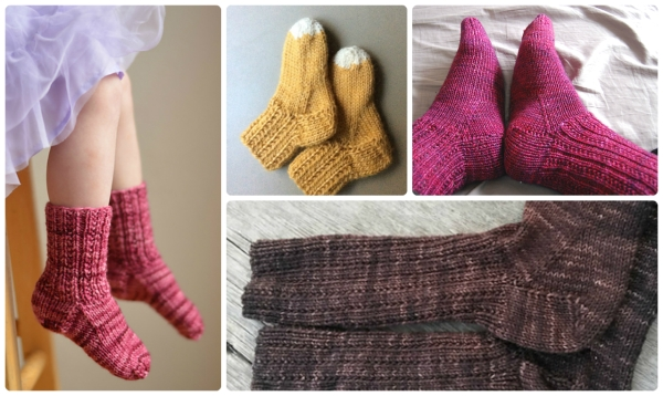 Little Squirrel Socks by Tin Can Knits