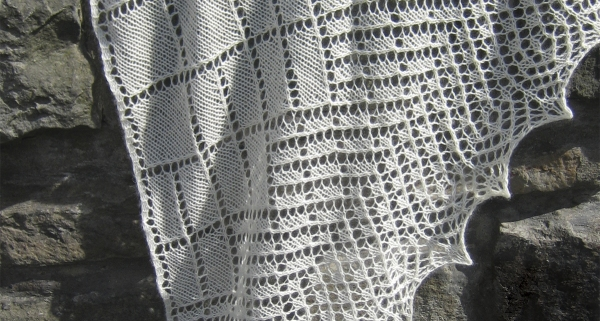 Branching Out Shawl by Tin Can Knits