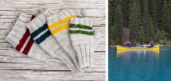Paddle Mitts by Tin Can Knits
