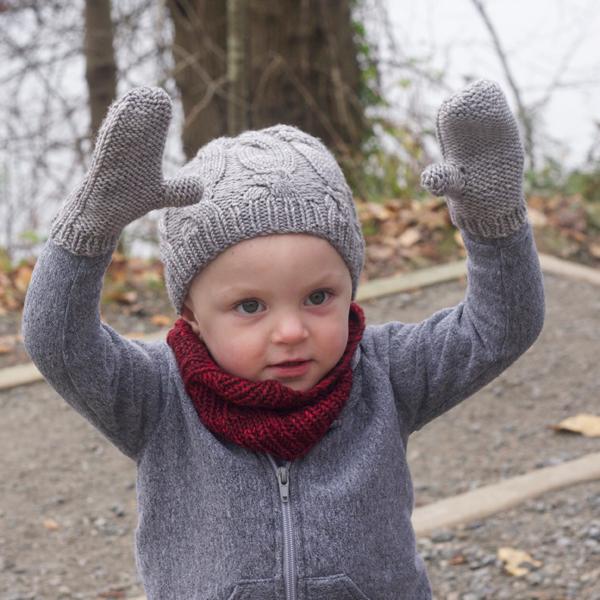 Look ma, mittens!