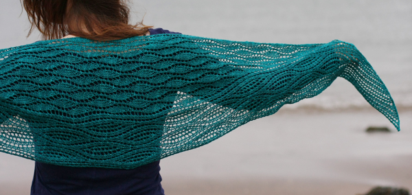 Estuary Shawl by Tin Can Knits