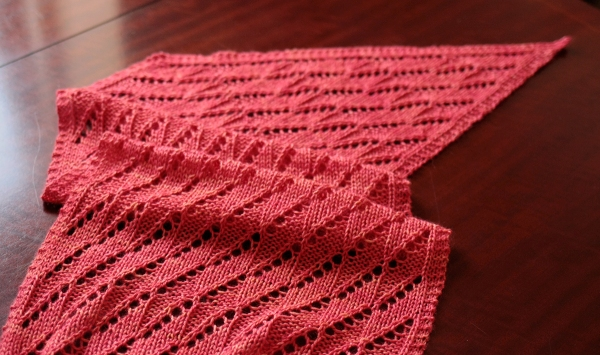 Lodestar Shawl by Tin Can Knits