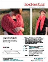 Lodestar Stole by Tin Can Knits