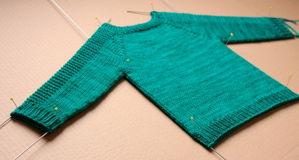 Sweater Blocking