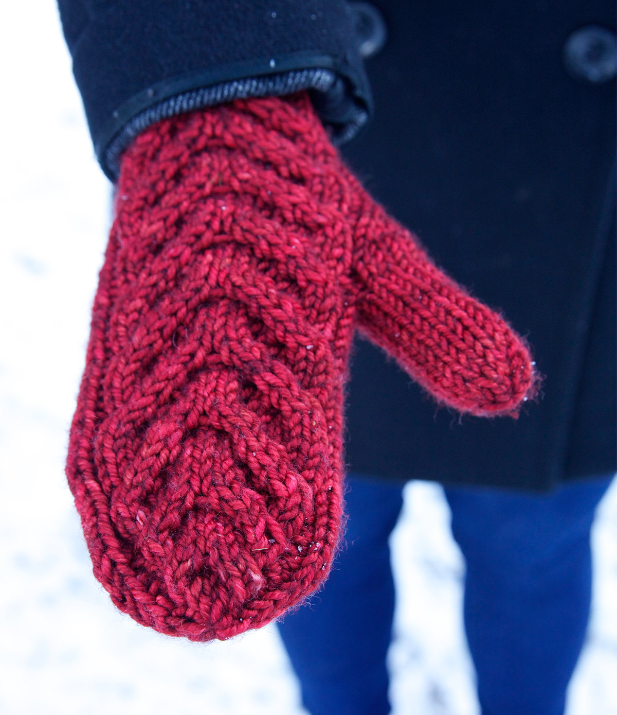 Antler Mittens | Tin Can Knits