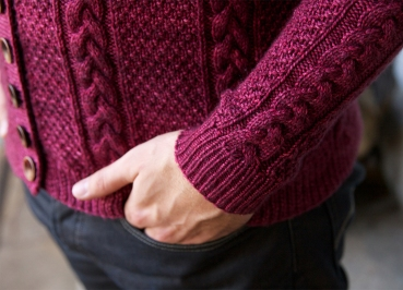 Jones Cardigan by Tin Can Knits