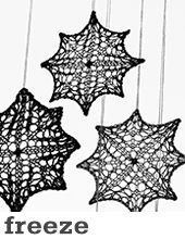 Freeze ornaments by Tin Can Knits