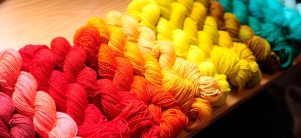 Rainbow Heirloom Yarns