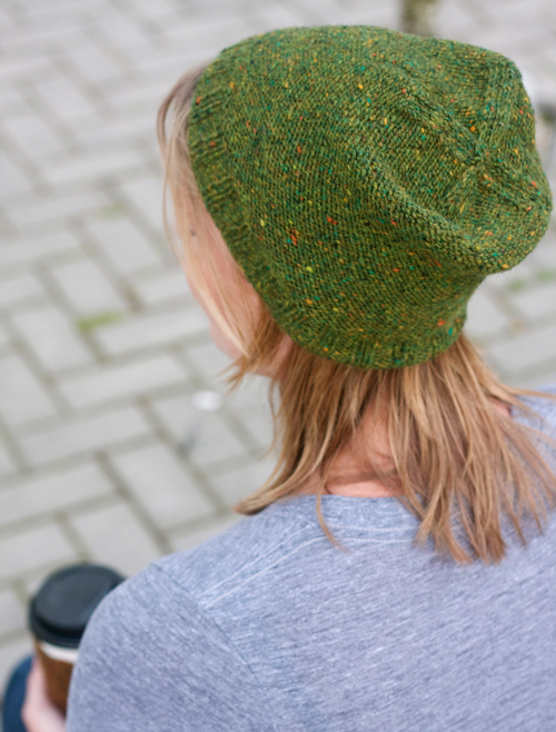 Hipster Knitting Patterns : Hip Slouchy Hat Tin Can Knits
