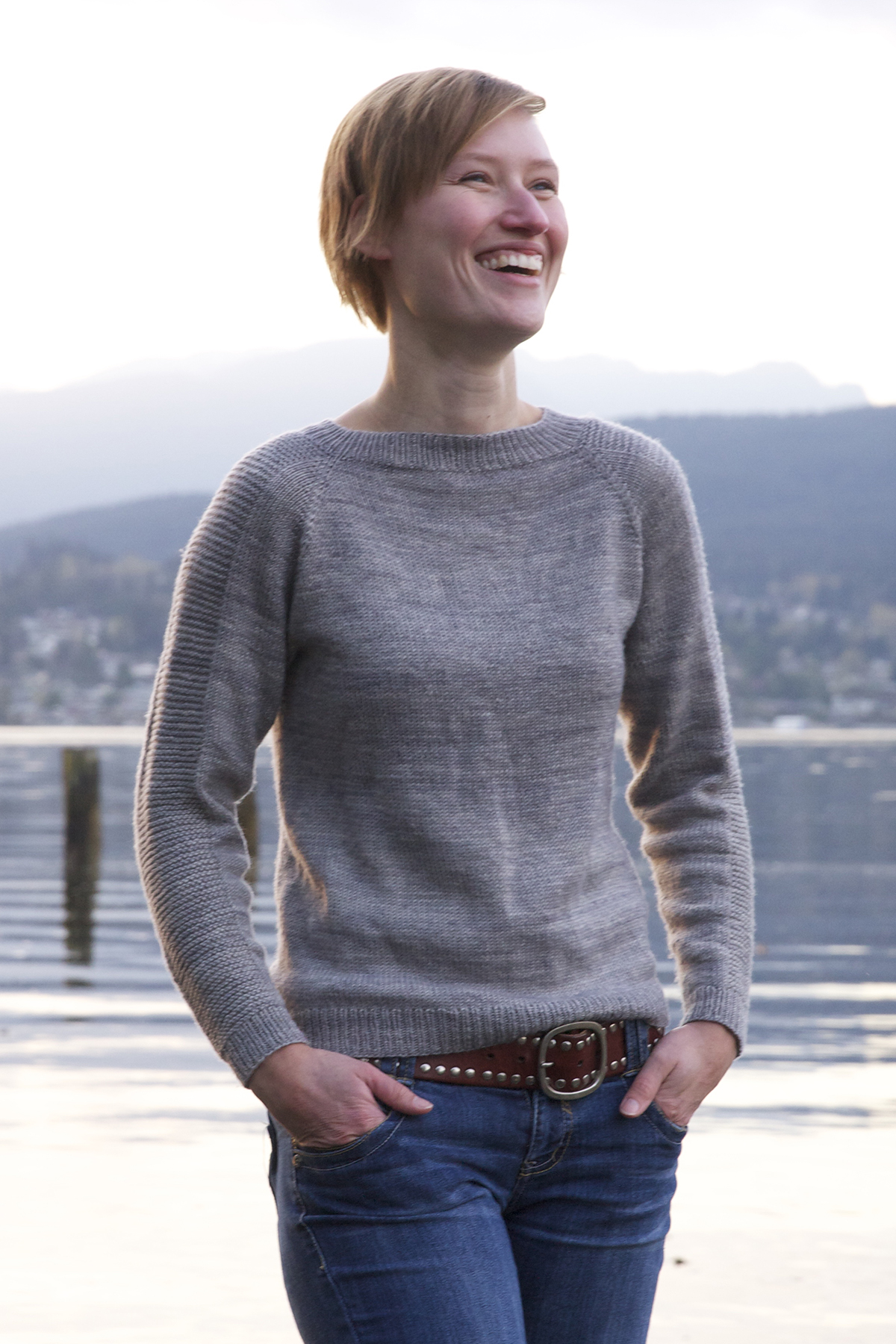Simple Sock Yarn Sweater | Tin Can Knits